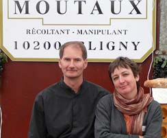 Christine et Renaud Fischer Owner of Champagne Moutaux