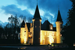 Château d'Agassac by night