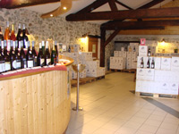 The domaine des herbauges welcomes wine tourism